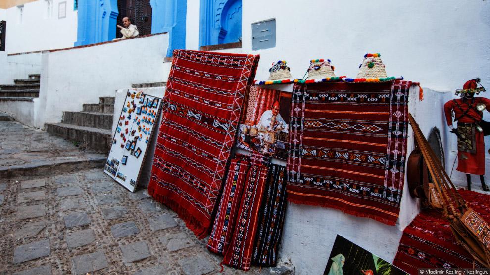 21s Марокканские сказки. 50 оттенков синего