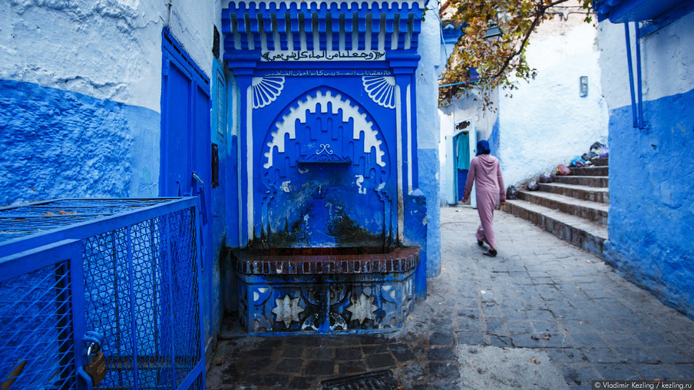 23s Марокканские сказки. 50 оттенков синего