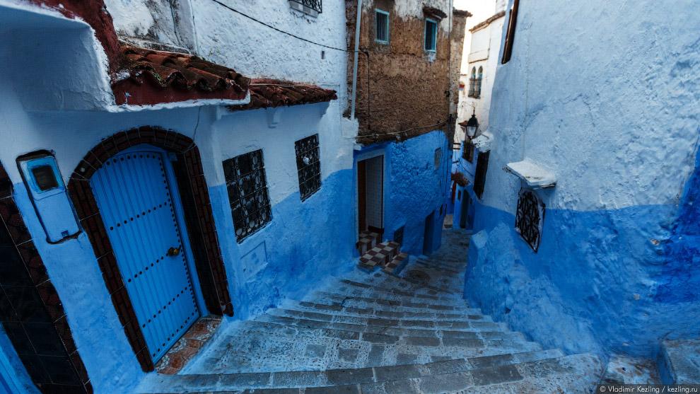 24s Марокканские сказки. 50 оттенков синего