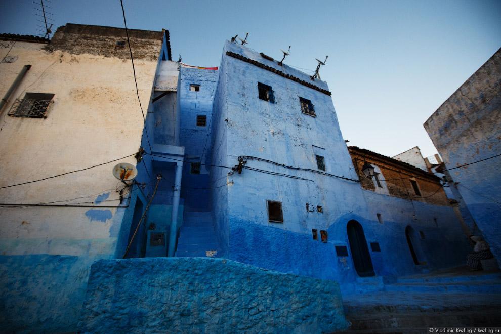 27s Марокканские сказки. 50 оттенков синего