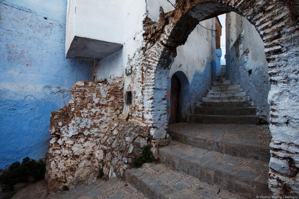 28s Марокканские сказки. 50 оттенков синего