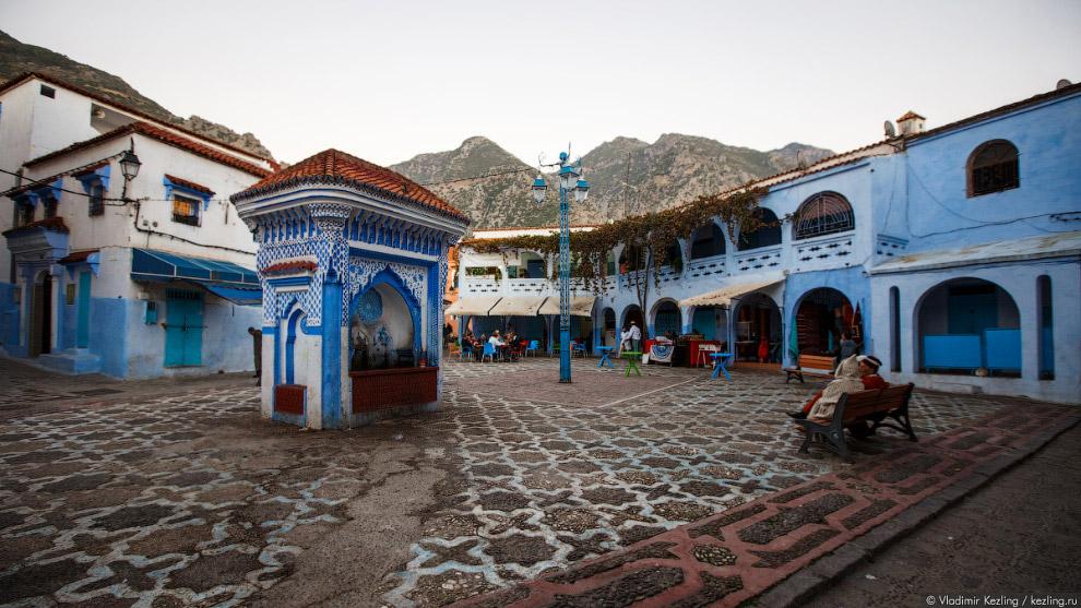 30s Марокканские сказки. 50 оттенков синего