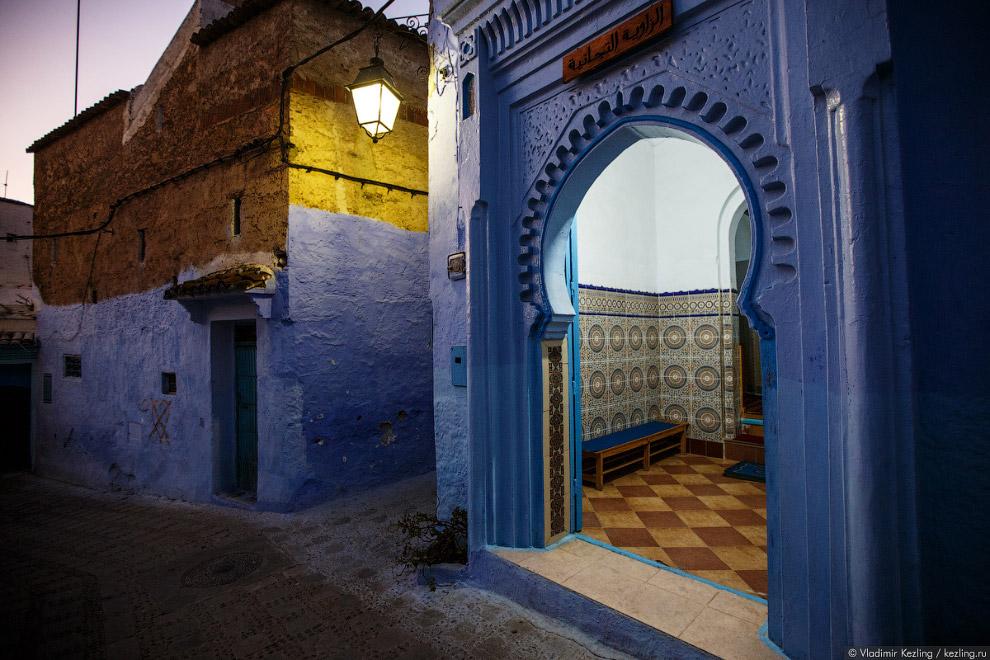 31s Марокканские сказки. 50 оттенков синего