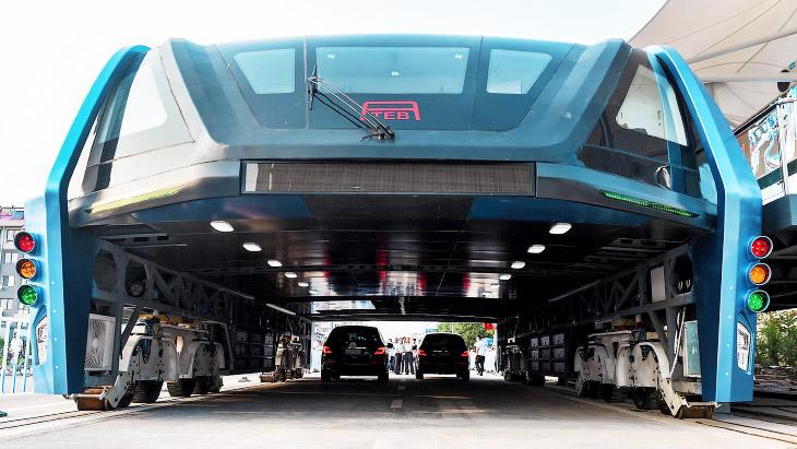 «Автобус будущего» из Китая