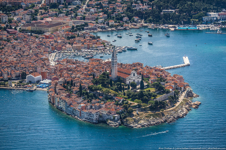 Хорватия с высоты