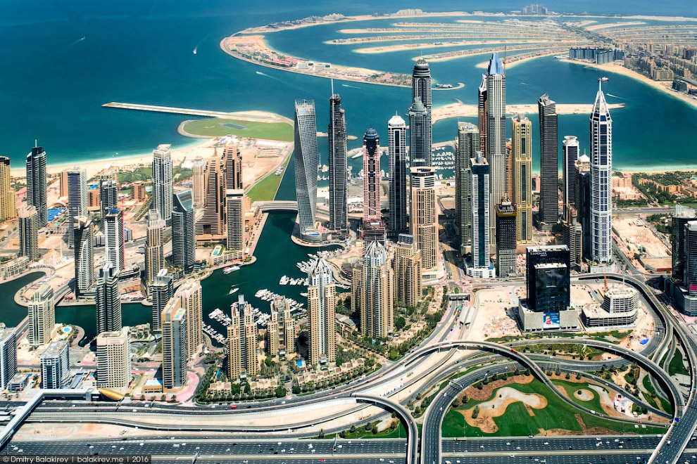 09 Самый прогрессивный город мира с гидроплана