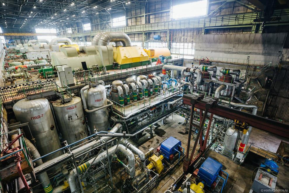 Котло-турбинный цех