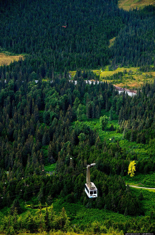 Горнолыжный курорт Alyeska Ski Resort