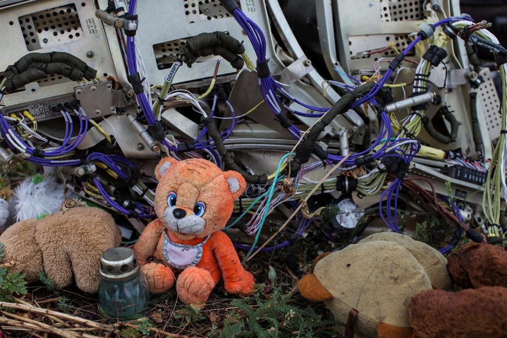 Рейс MH17 после крушения