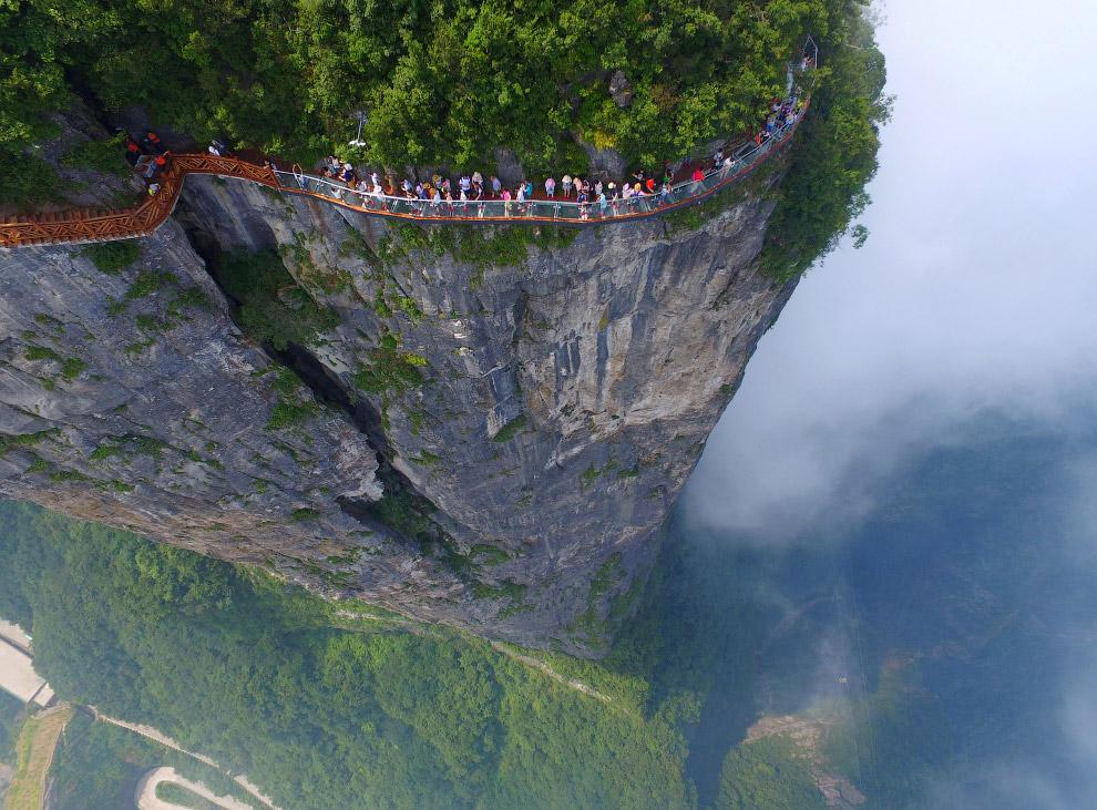Небесный мост в Китае