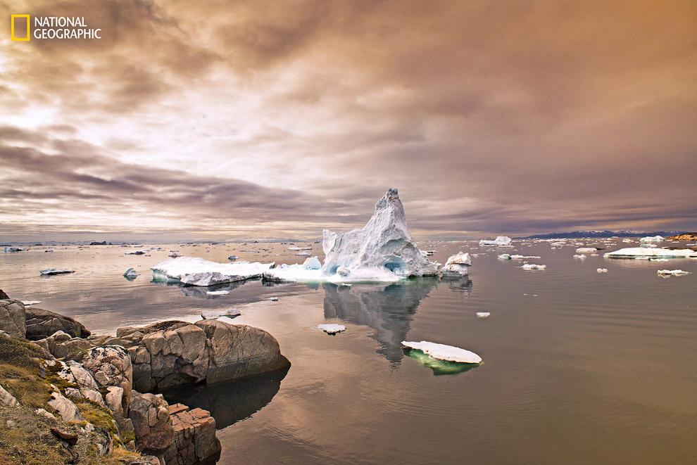 Айсберги в Гренландии