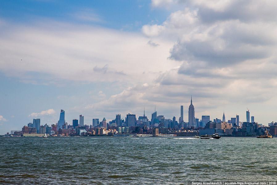 Вид на верхний Манхеттен