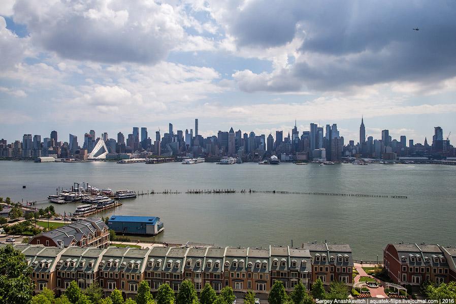 Так выглядит Манхеттен с Хэмилтон Парка