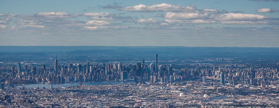 Основная часть Манхеттена, Гарлем и верхний Манхетте