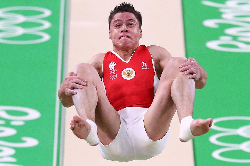 Русский гимнаст Никита нагорный