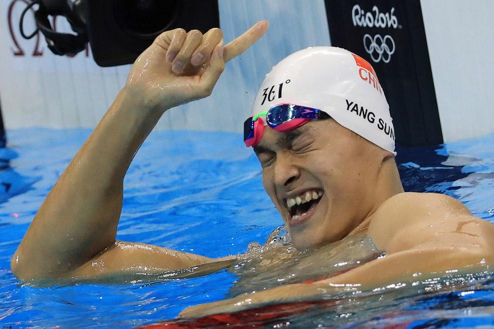 Китайский пловец