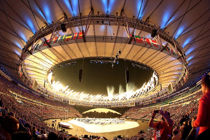 Всего на церемонии открытия было 4 части представления