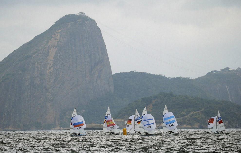 Соревнования парусников на Олимпиаде в Рио