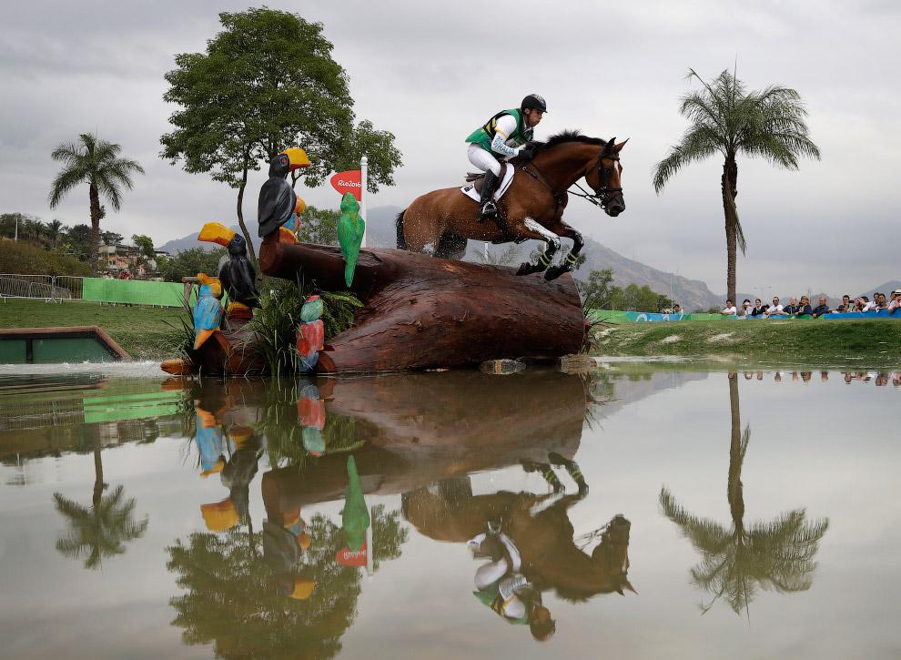 Конное троеборье на летних Олимпийских играх 2016