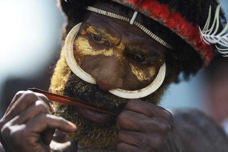 Войны племен из Индонезии