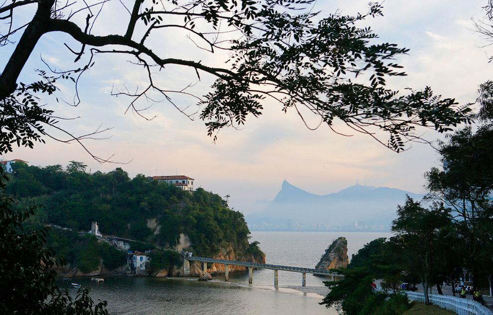 Вид на Рио-де-Жанейро