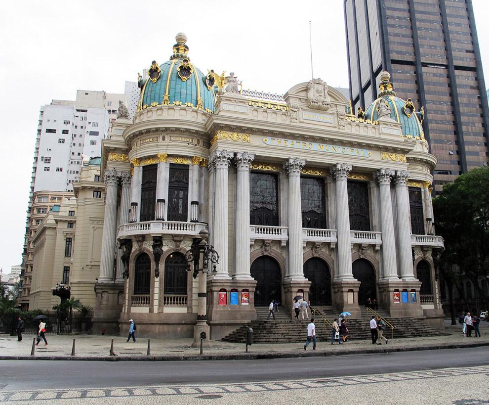 Театр оперы и балета в Рио-де-Жанейро