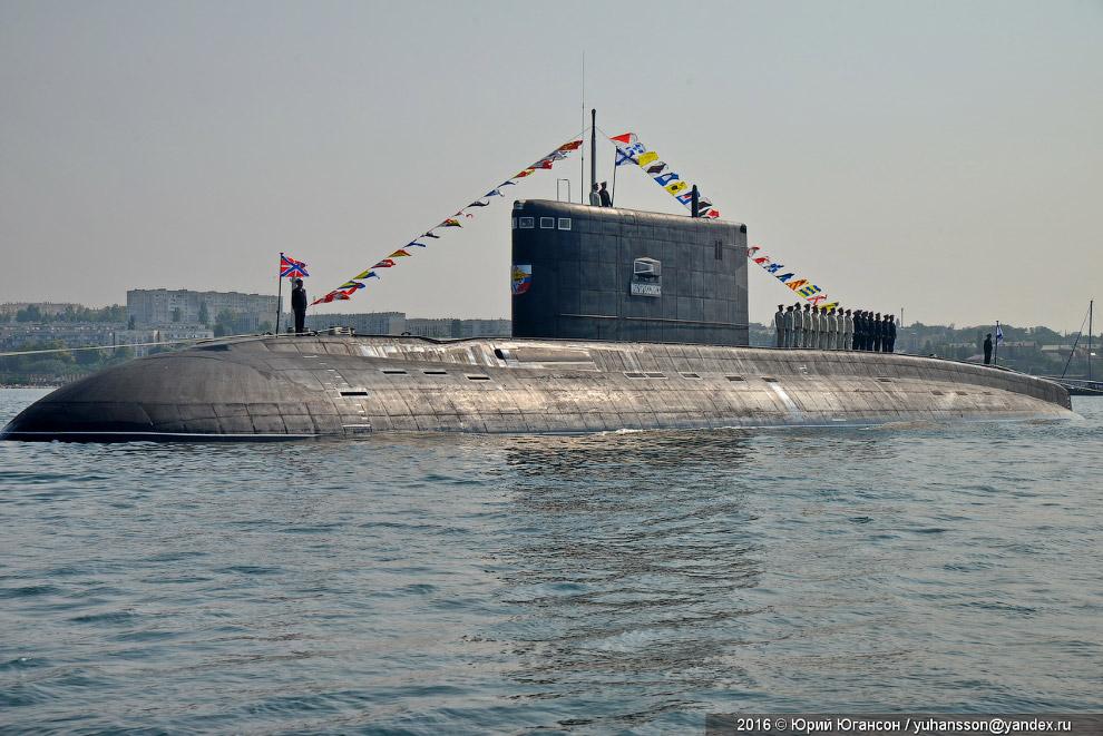 Подлодка «Новороссийск»