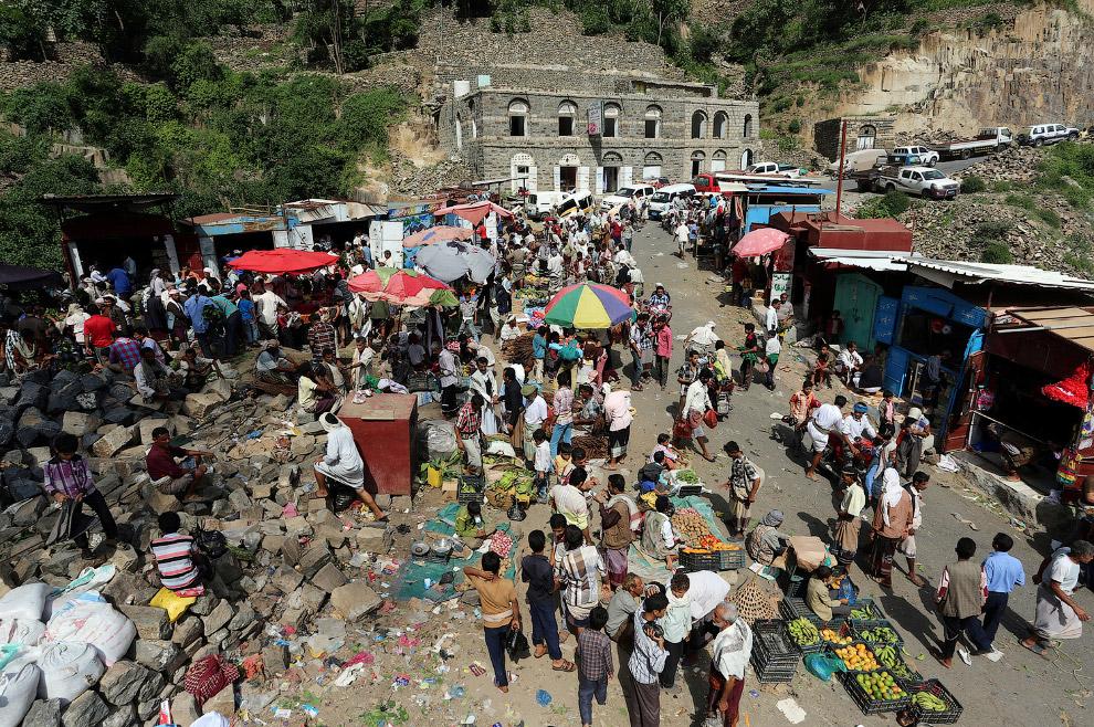 Местный рынок в горах