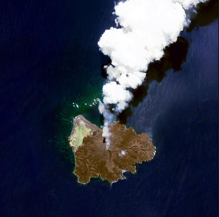Остров Nishinoshima