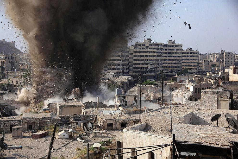 Алеппо 19 мая 2015