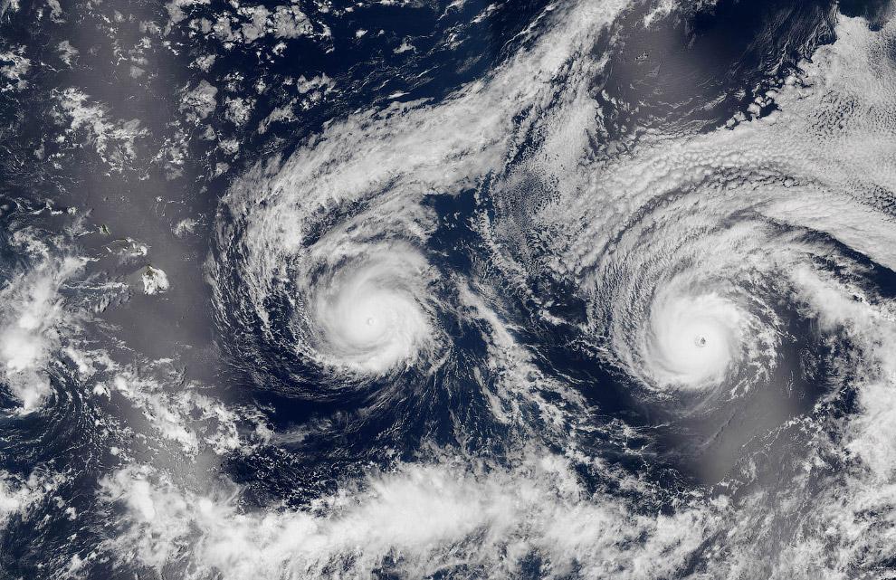Ураган над Гавайями