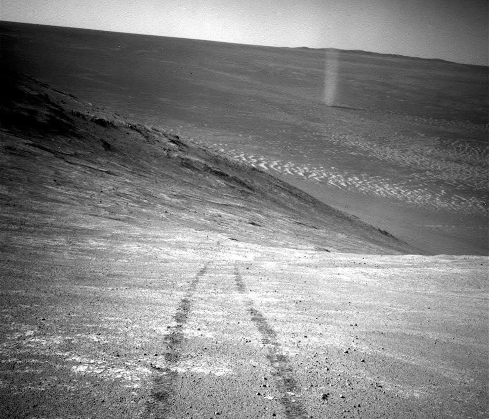Следы Марсохода