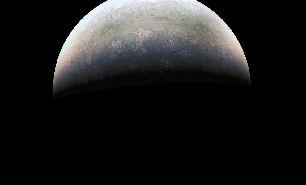 Красивейший снимок Юпитера