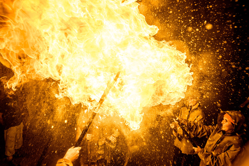 Дыхание огнем
