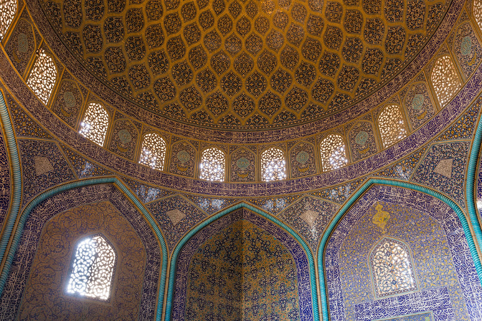 Мозаика мечети шейха Лютфуллы