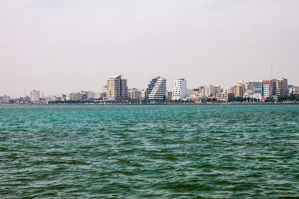 Портовый город Бендер-Аббас