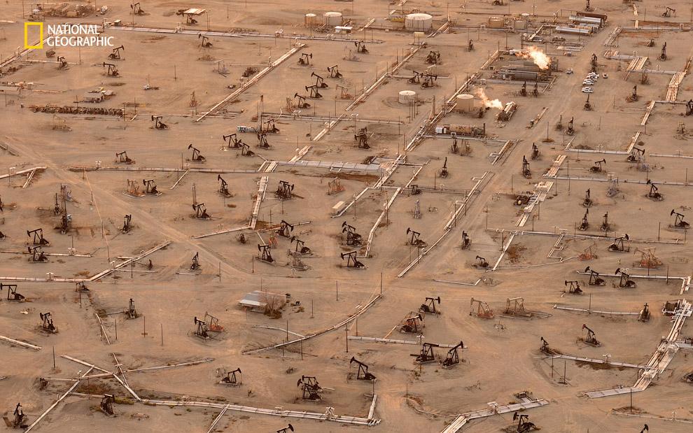 Крупнейшее месторождение нефти в Калифорнии