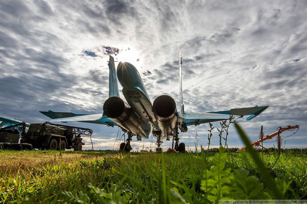 Липецкий Су-34 — единственный «утёнок», которому присвоено имя «Олег Пешков»