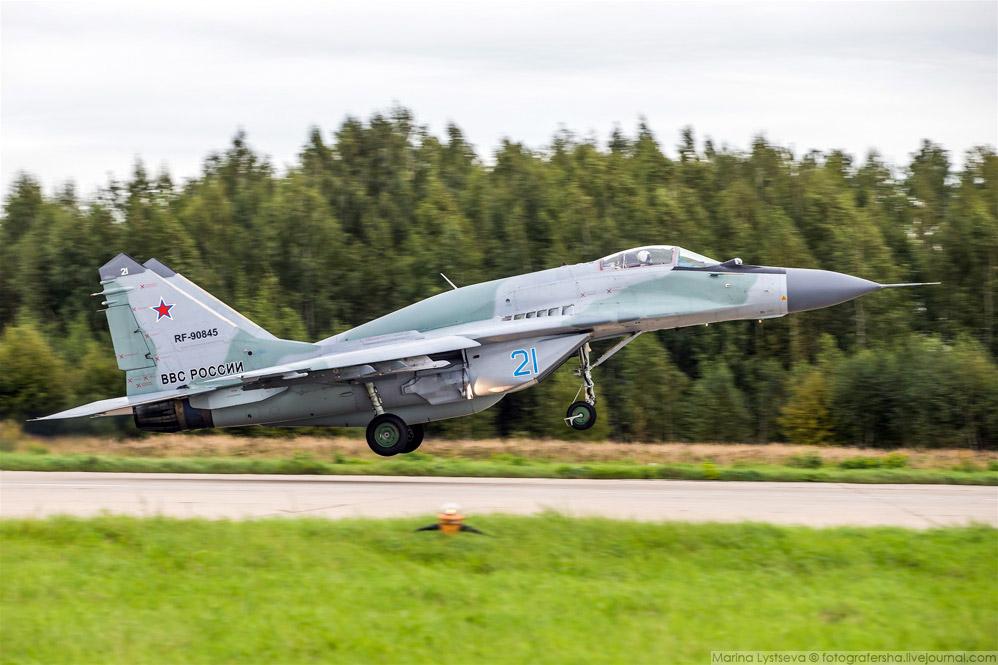 """""""Горбатый"""" МиГ-29СМТ."""