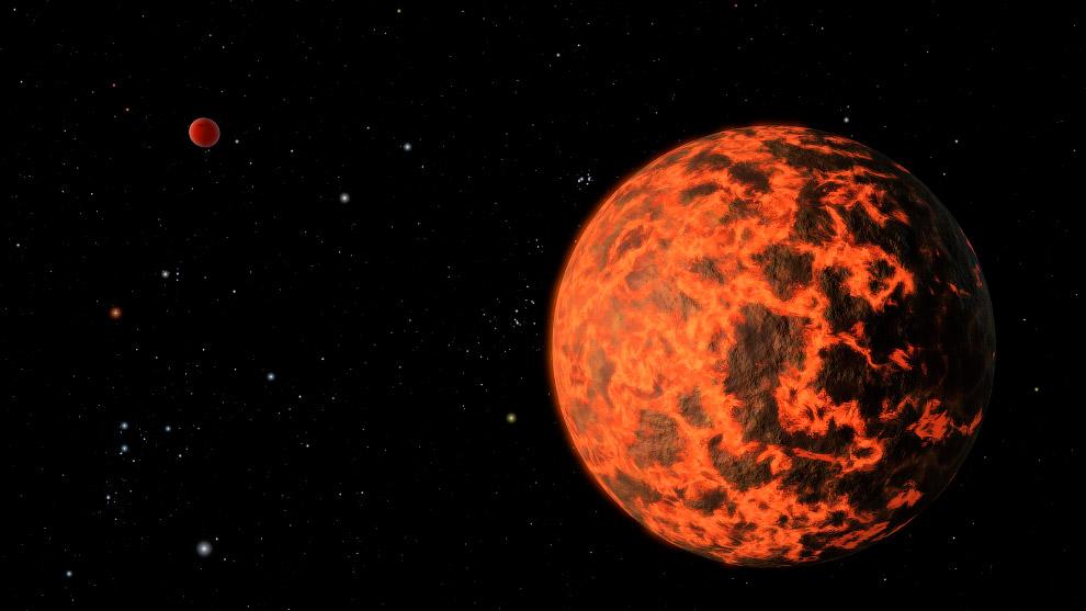Землеподобная планета UCF-1.01 − ближайшая к Солнечной системе