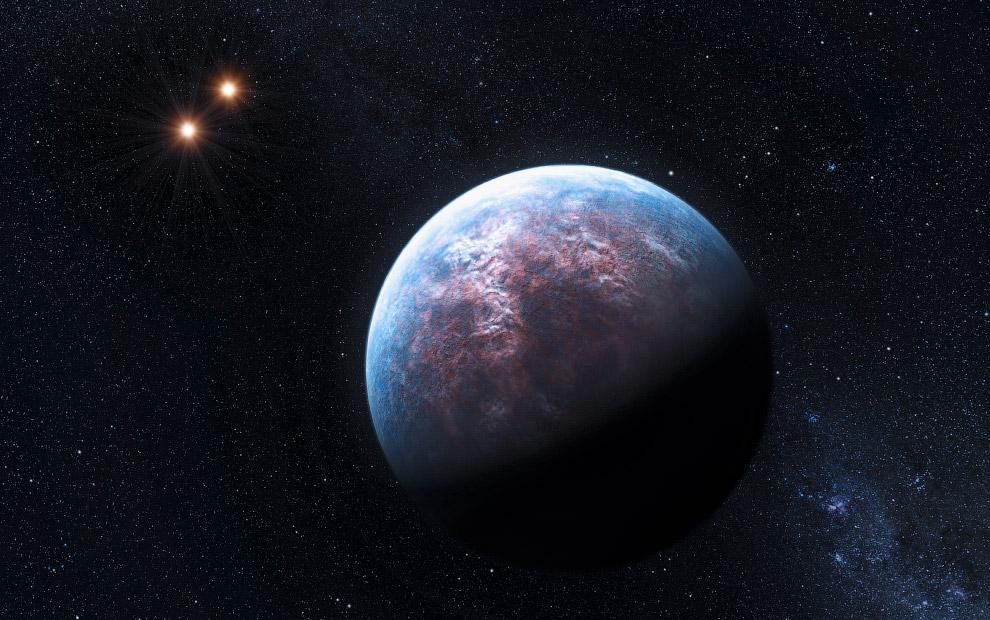 Еще одна экзопланета, в 6 раз больше Земли