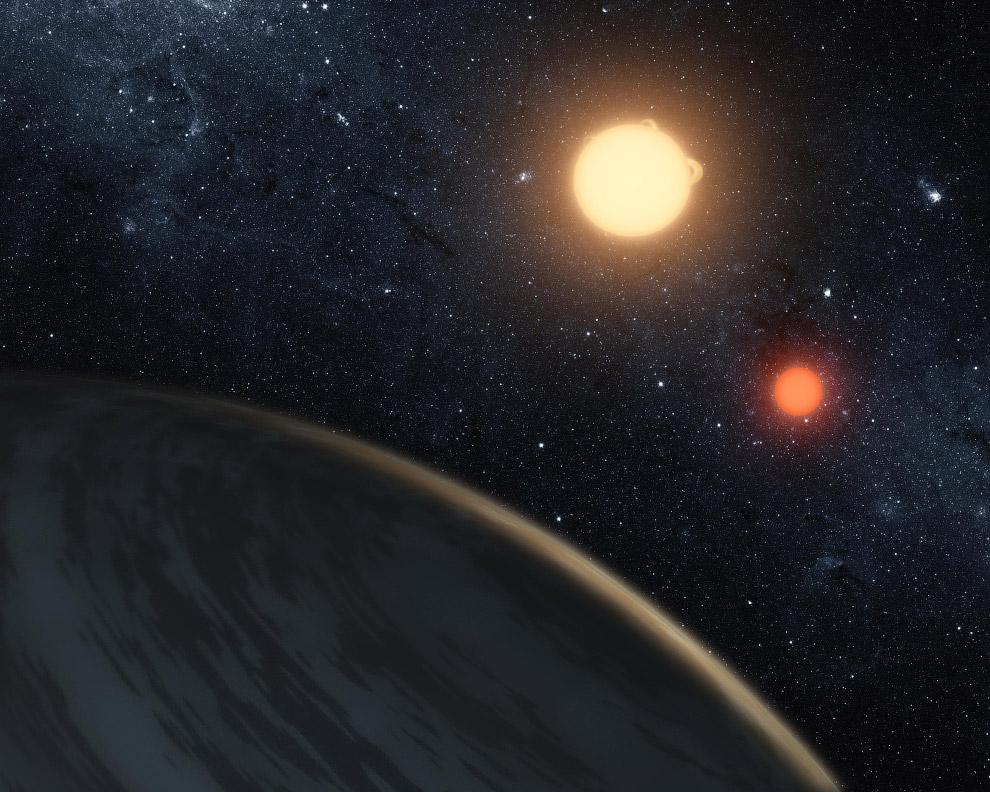 Планета  Kepler-16