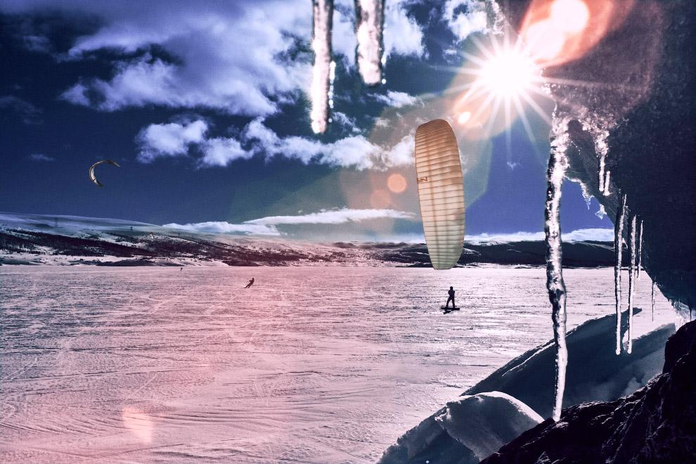 Red Bull Ragnarok это гонка по горам на кайтах — на выносливость