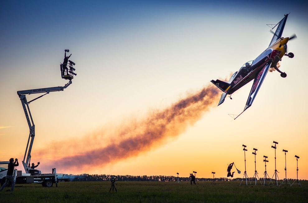 Воздушные гонки – очень эффектно