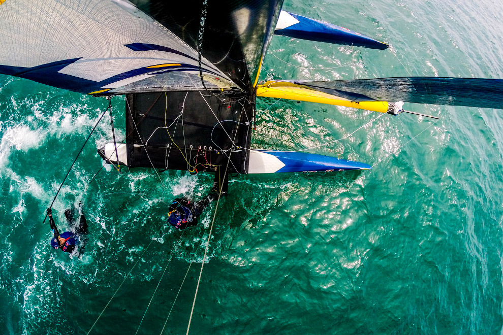 Парусная регата Red Bull Foiling Generation