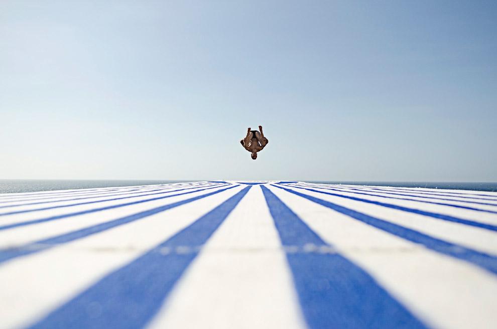 Соревнования по прыжкам со скалы Red Bull Cliff Diving в Гаване