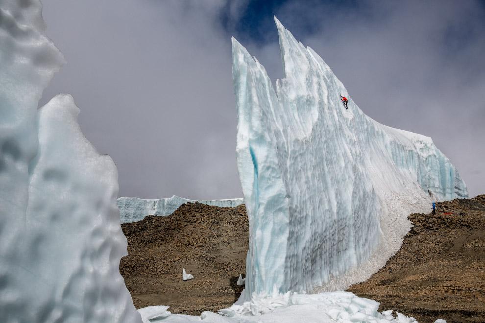 Лазание по ледникам