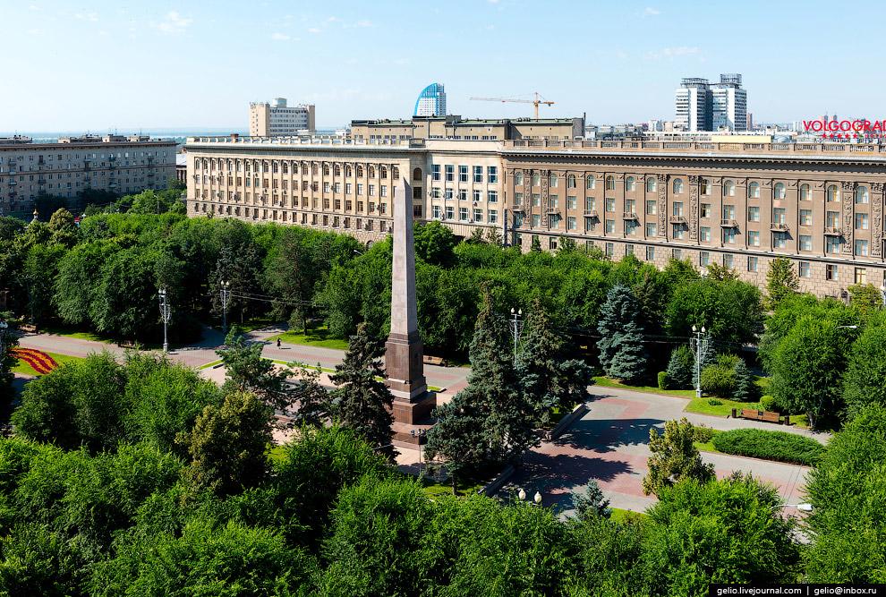 Памятник «Защитникам красного Царицына и Сталинграда».