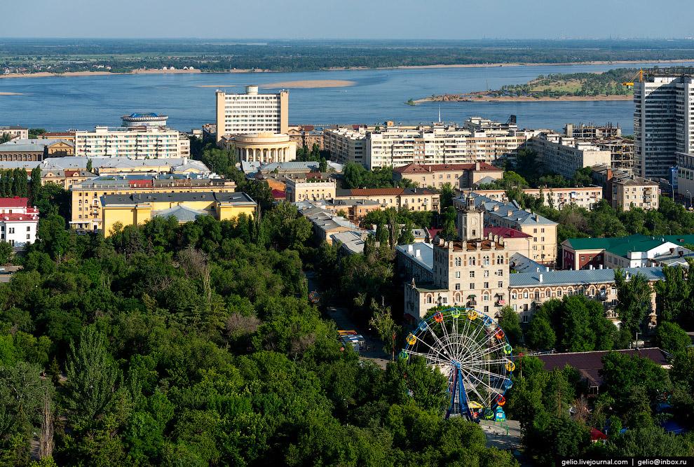 Городской и Комсомольский сады
