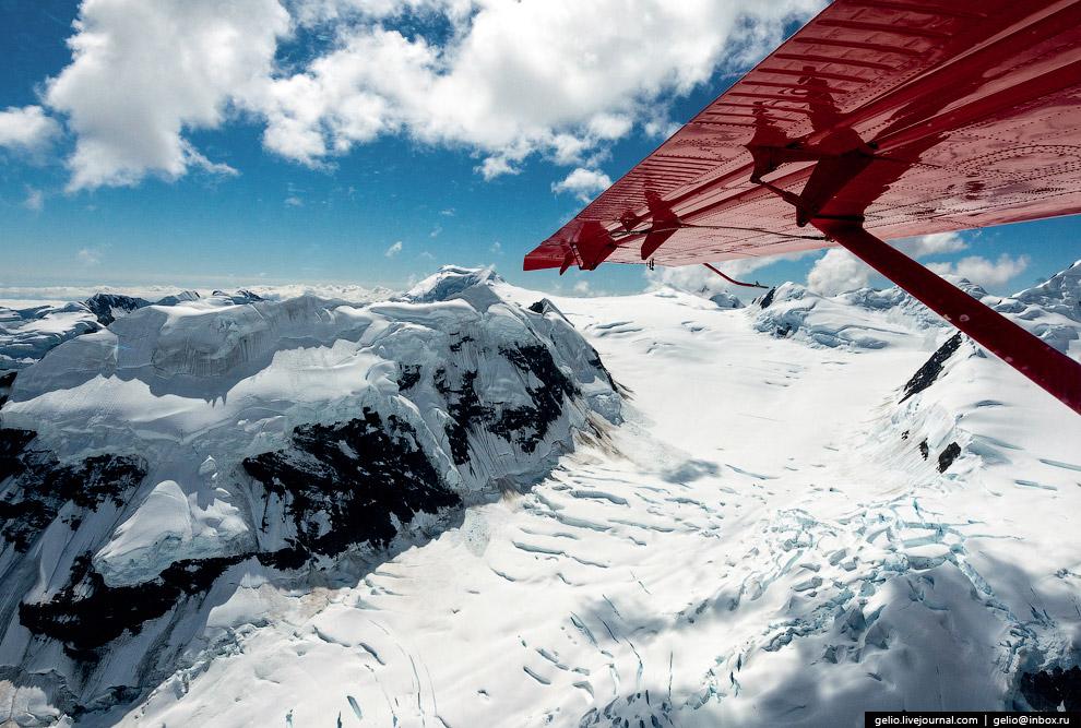 Гора Денали на Аляске